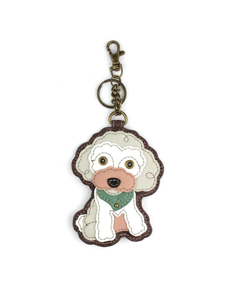 Chala Key Fob Poodle