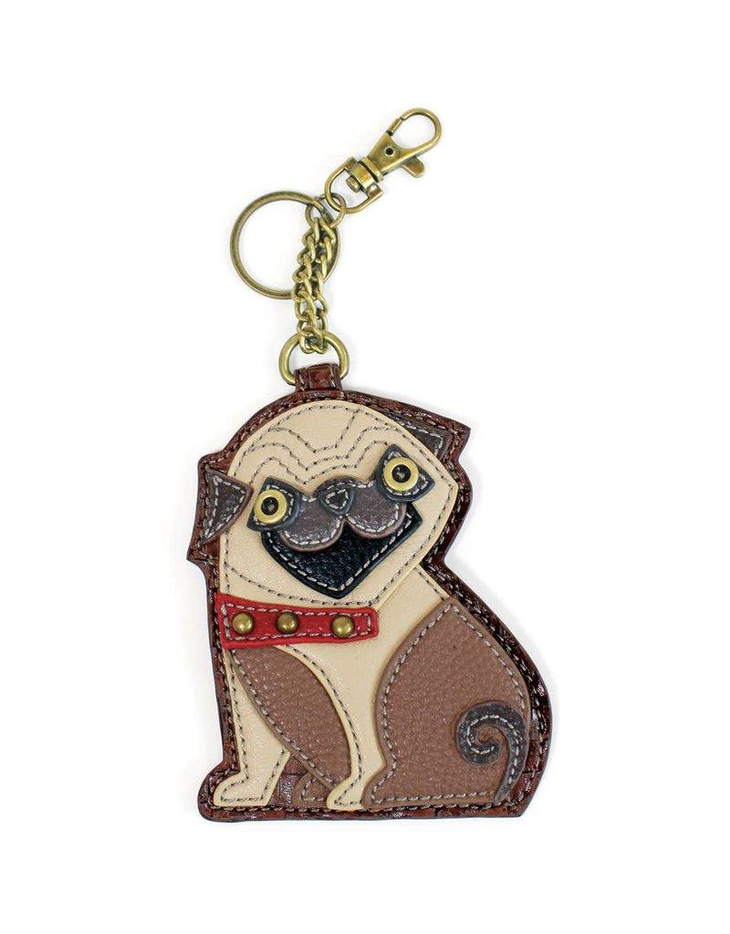 Chala Key Fob Pug