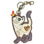 Chala Key Fob Slim Cat