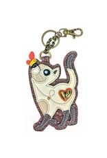 Chala Key Fob Slim Cat