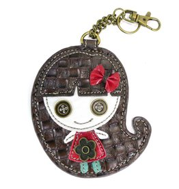 Chala Key Fob Smiley Girl