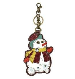 Chala Key Fob Snowman
