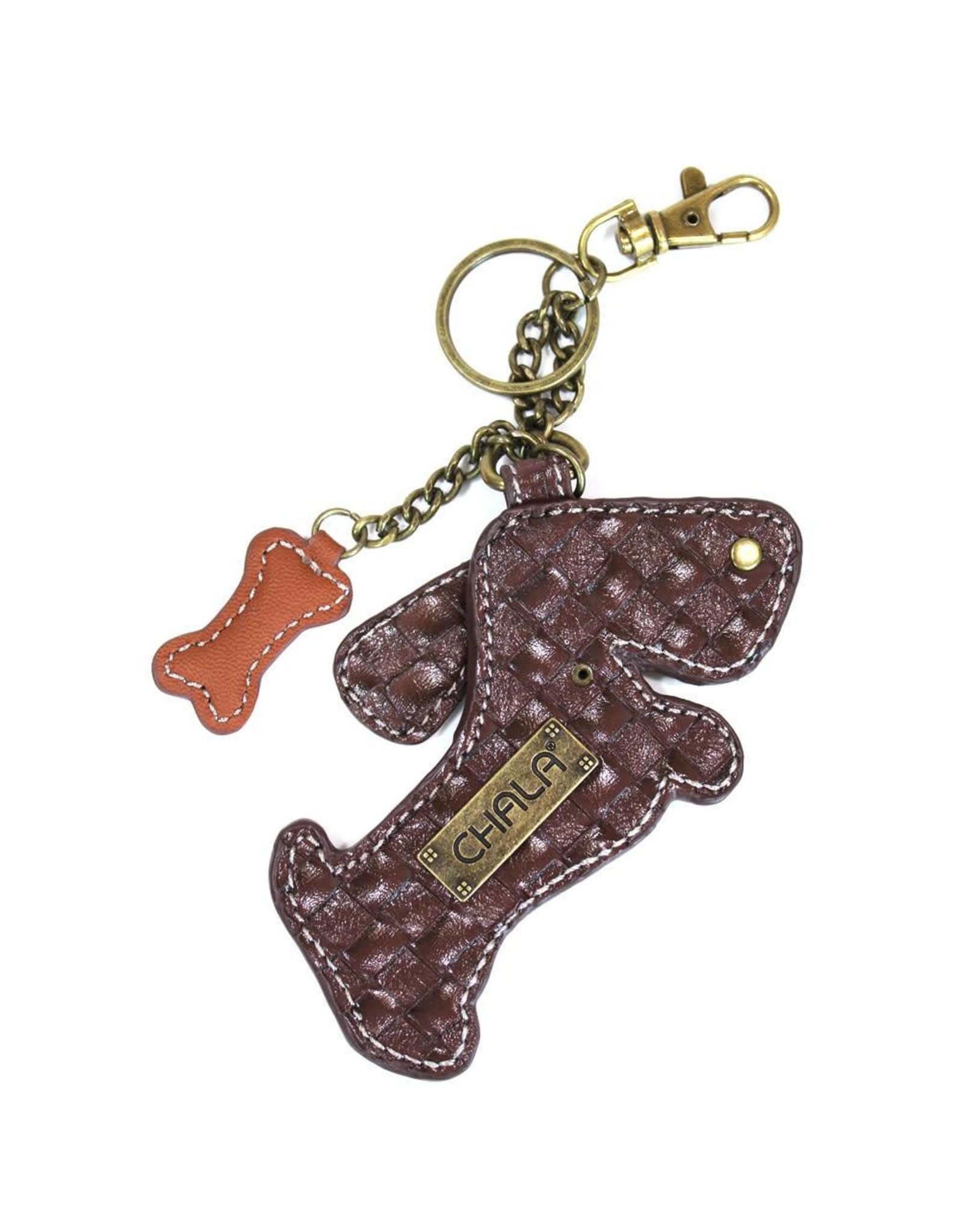 Chala Key Fob Wiener Dog