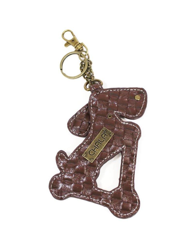 Chala Key Fob Wiener Dog Scooter