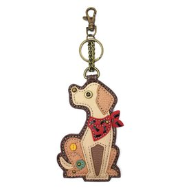 Chala Key Fob Yellow Lab