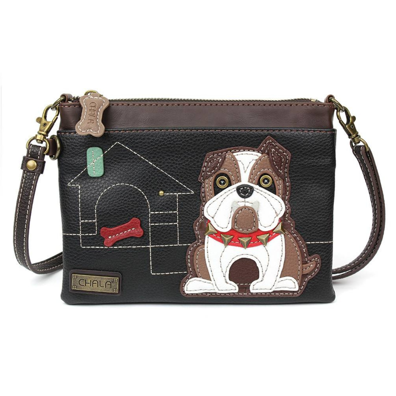 Chala Mini Crossbody Bulldog