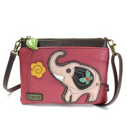 Chala Mini Crossbody Elephant Dark Pink