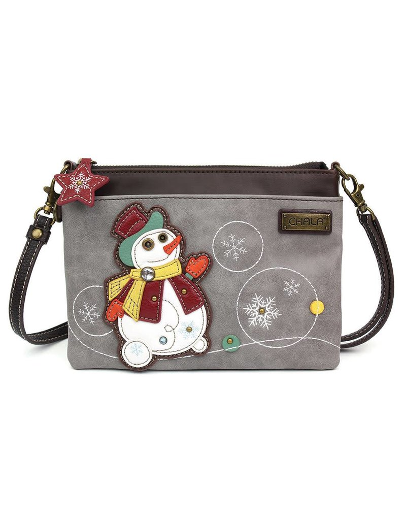 Chala Mini Crossbody Snowman
