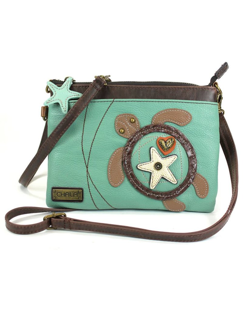 Chala Mini Crossbody Turtle Teal
