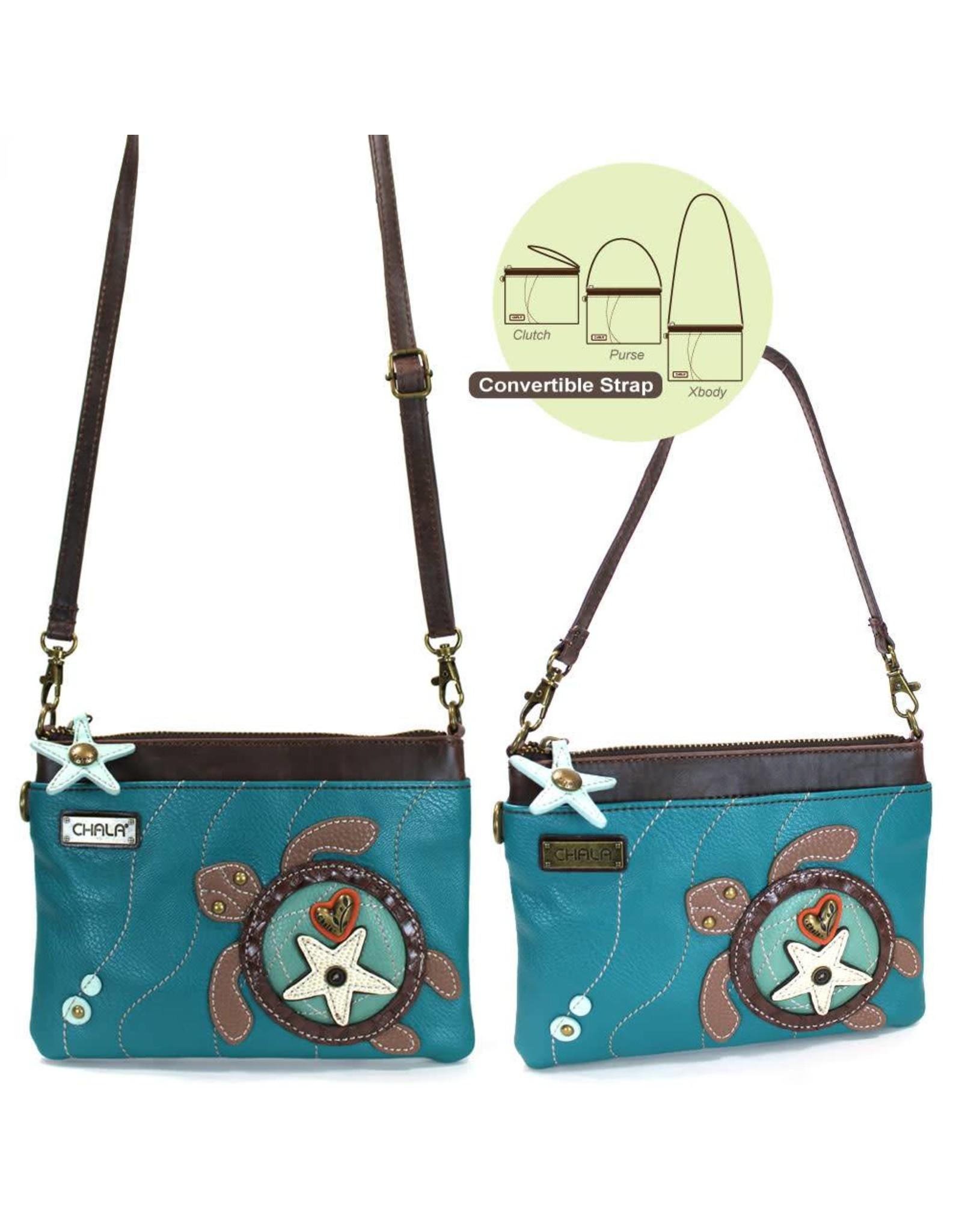 Chala Mini Crossbody Turtle Turquoise