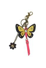 Chala Mini Keychain Butterfly Yellow