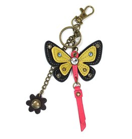 Chala Mini Keychain Butterfly Yellow