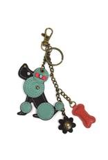 Chala Mini Keychain Poodle