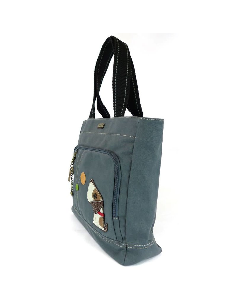 Chala Pocket Tote Toffy Dog