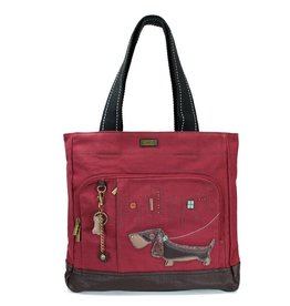 Chala Pocket Tote Wiener Dog
