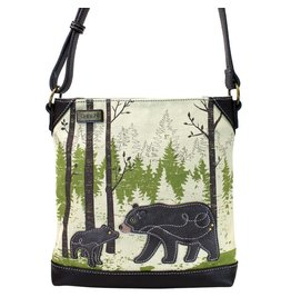 Chala Safari Bear Canvas Crossbody