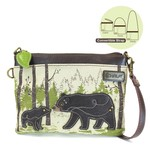 Chala Safari Bear Canvas Mini Crossbody