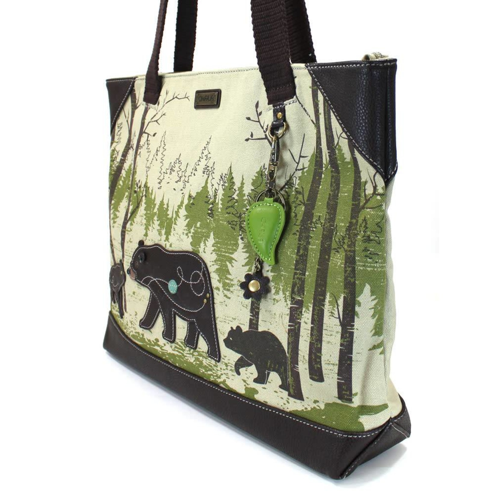 Chala Safari Bear Canvas Tote