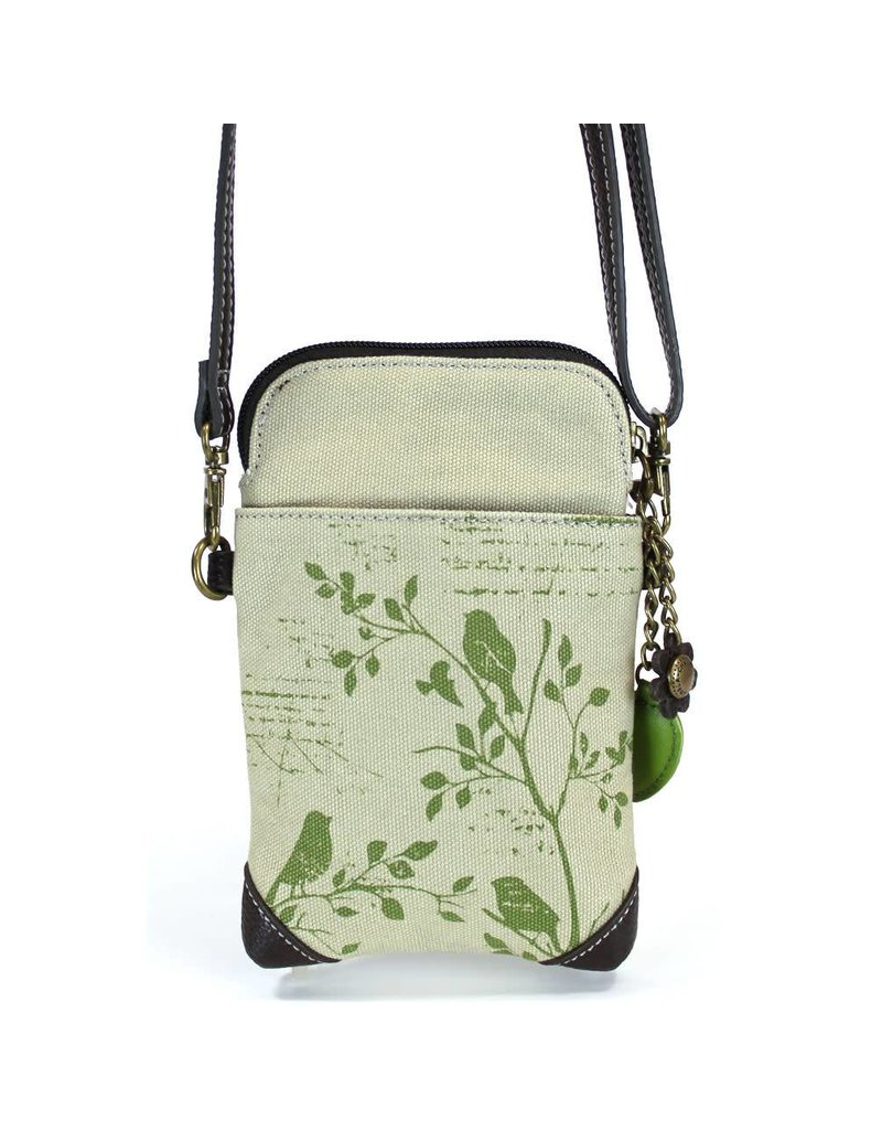 Chala Safari Bird Canvas Cell Phone Crossbody