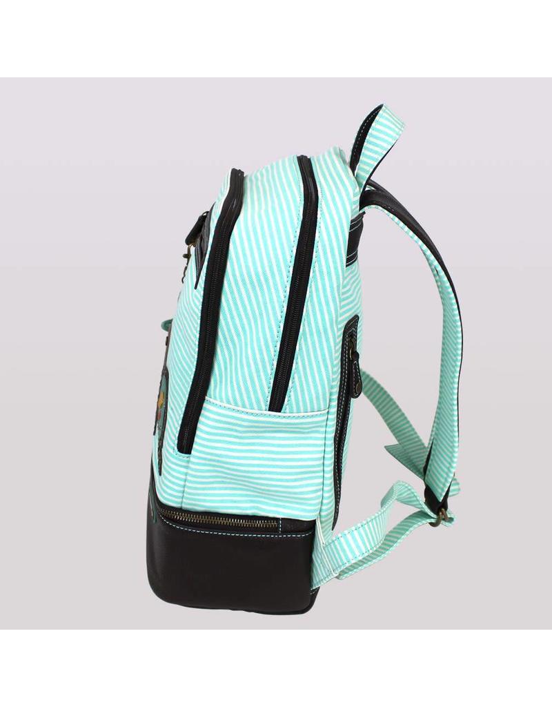 Chala Stripe Backpack Turtle