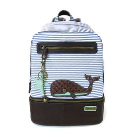 Chala Stripe Backpack Whale
