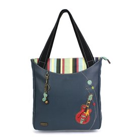 Chala Striped Zip Tote Guitar