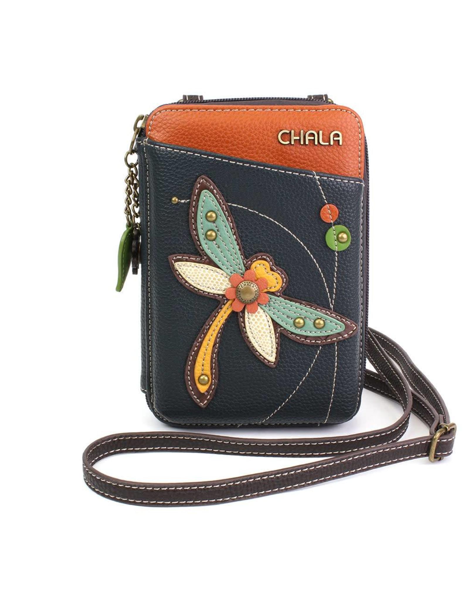 Chala Wallet Crossbody Dragonfly