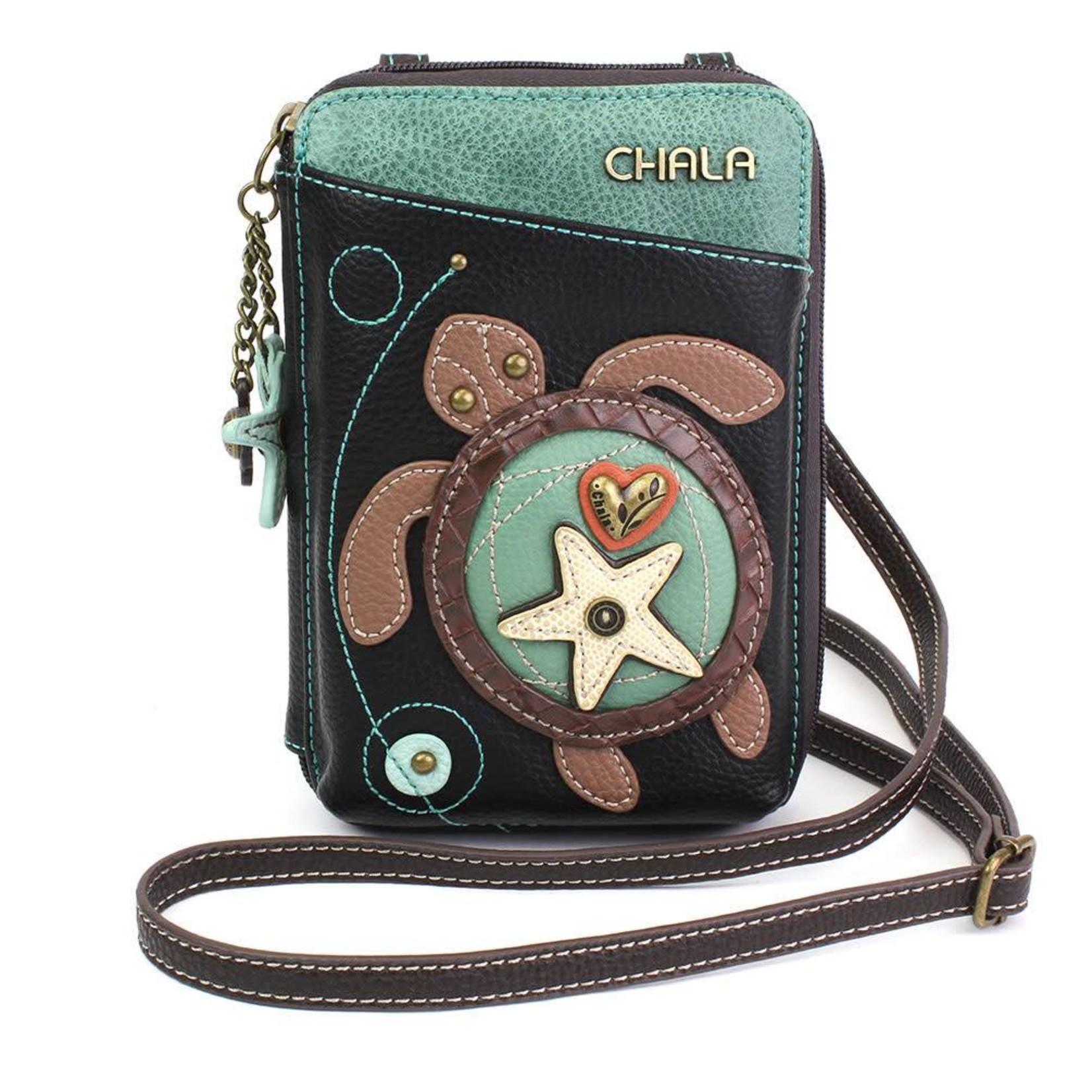 Chala Wallet Crossbody Turtle