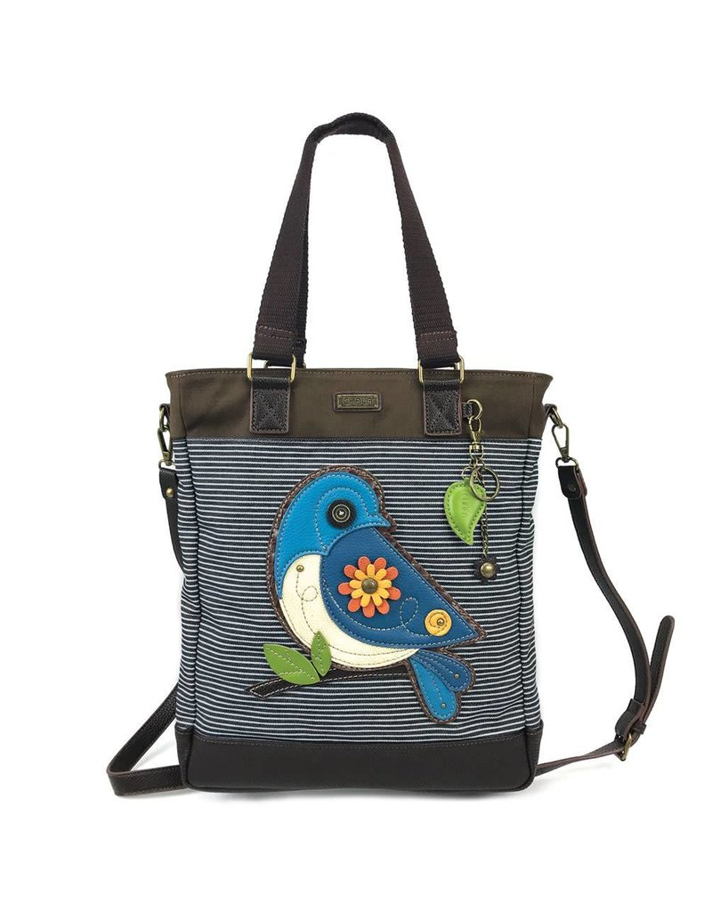 Chala Work Tote Blue Bird