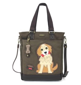 Chala Work Tote Golden Retriever