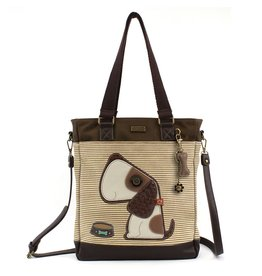 Chala Work Tote Toffy Dog