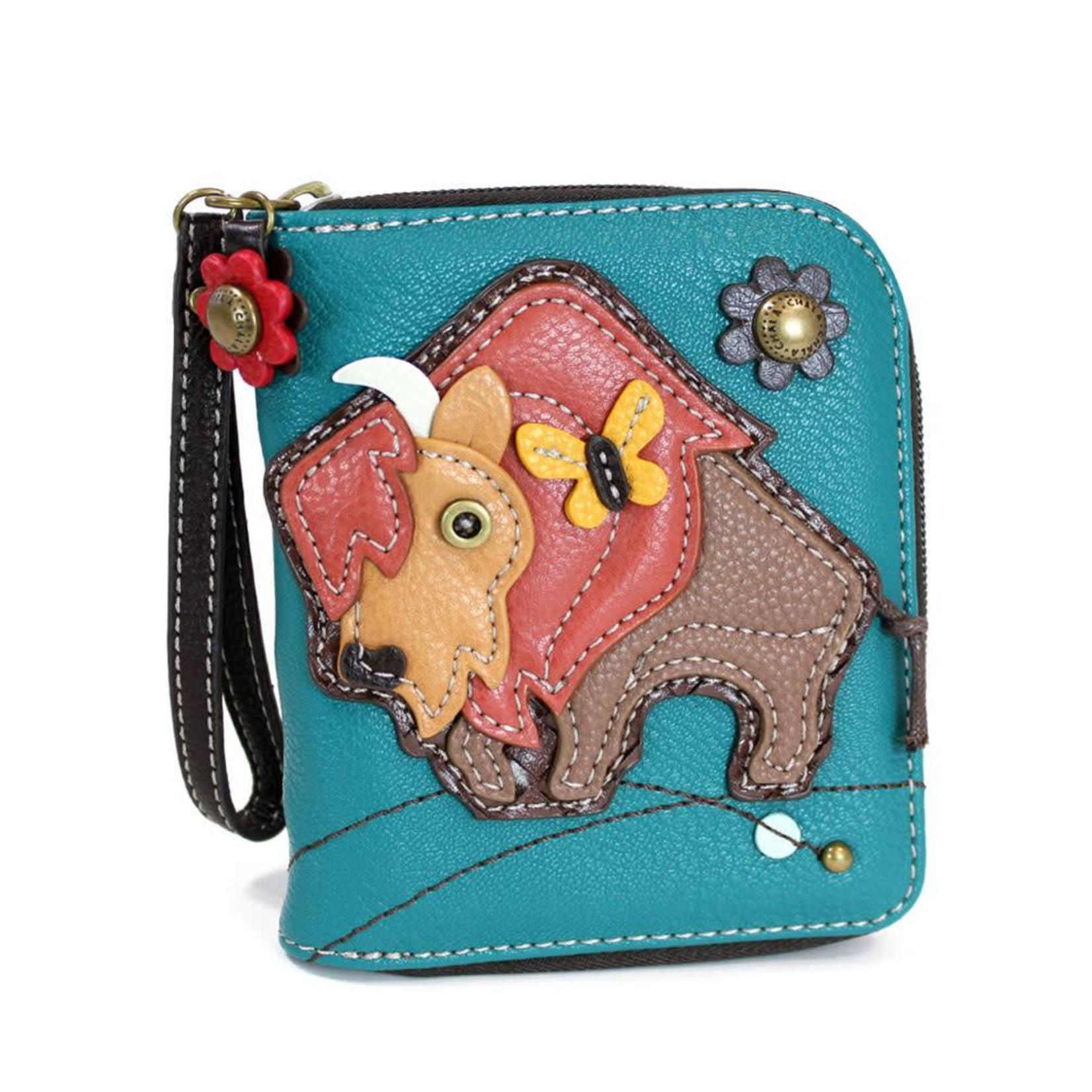 Chala Zip Around Wallet Buffalo