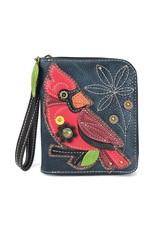 Chala Zip Around Wallet Cardinal
