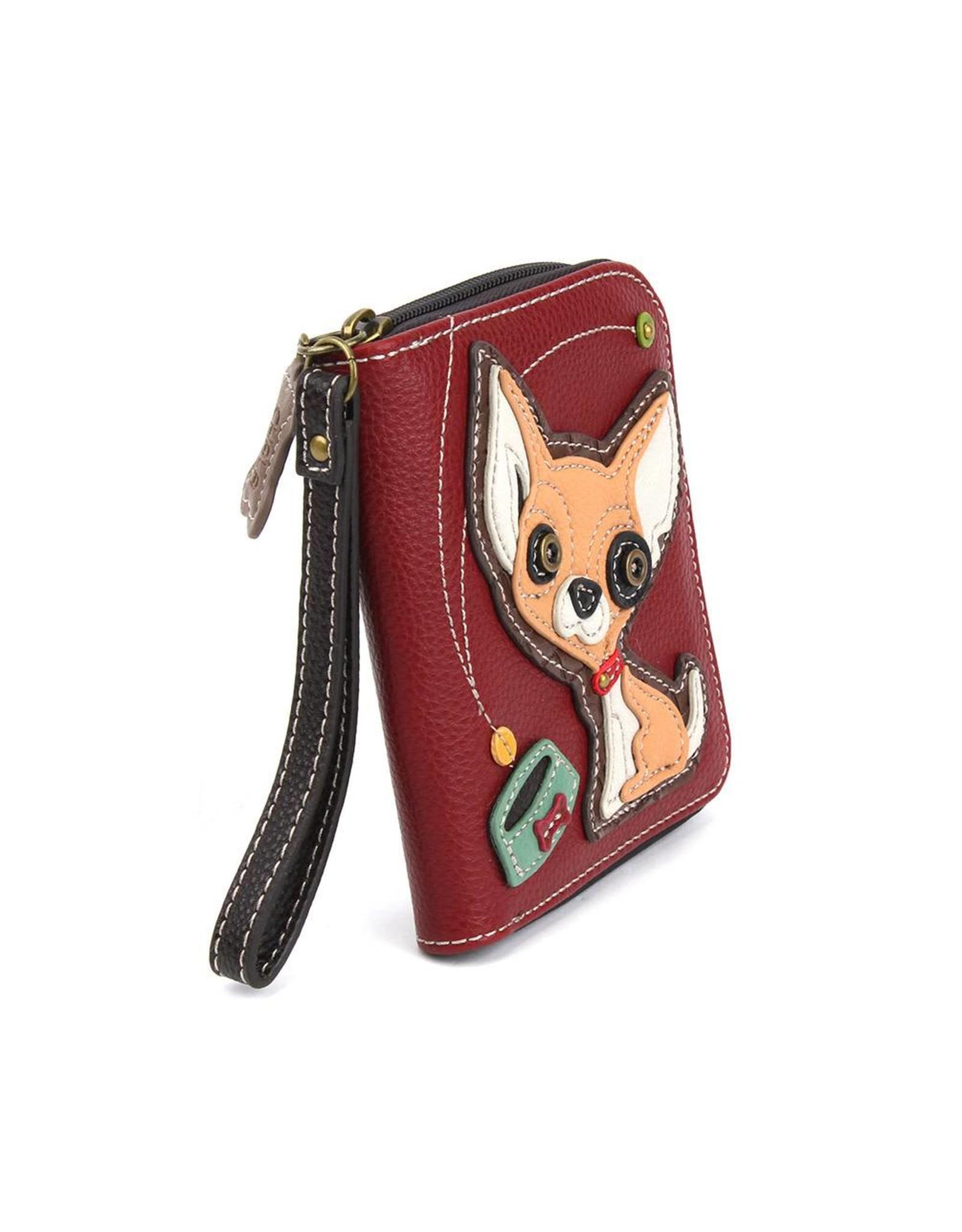 Chala Zip Around Wallet Chihuahua