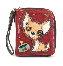 Chala Zip Around Wallet Chihuahua
