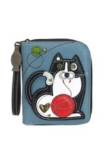 Chala Zip Around Wallet Fat Cat
