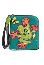 Chala Zip Around Wallet Frog