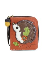 Chala Zip Around Wallet Hedgehog