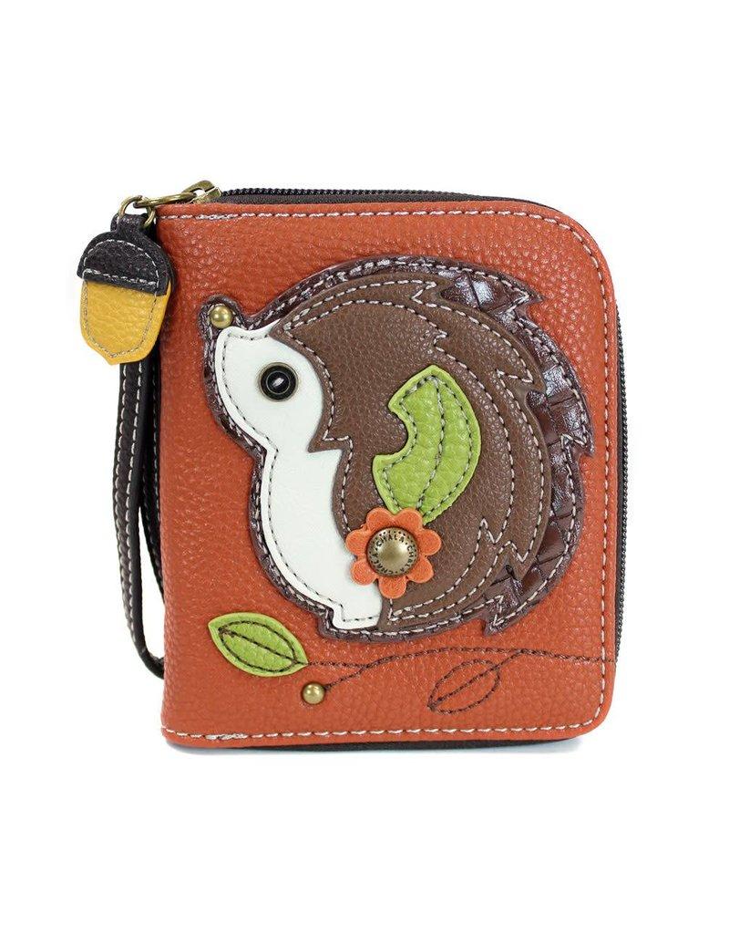 Chala Zip Around Wallet Hedgehog
