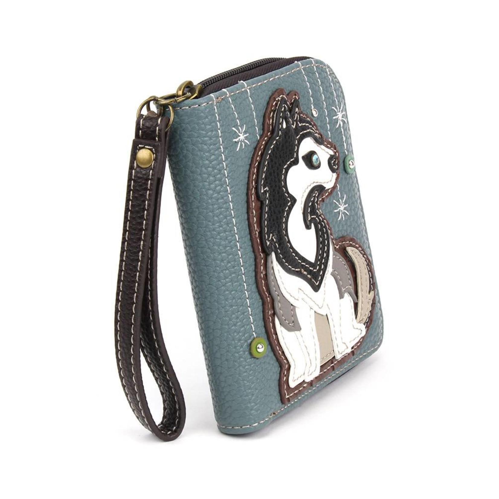 Chala Zip Around Wallet Husky