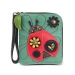Chala Zip Around Wallet Ladybug