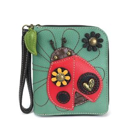 Chala Zip Around Wallet Ladybug
