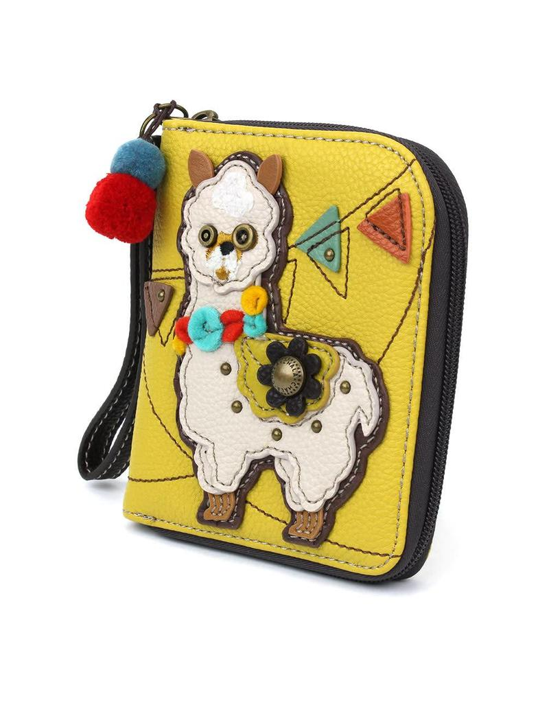 Chala Zip Around Wallet Llama