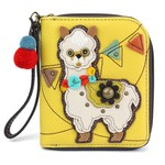 Chala Zip Around Wallet Llama