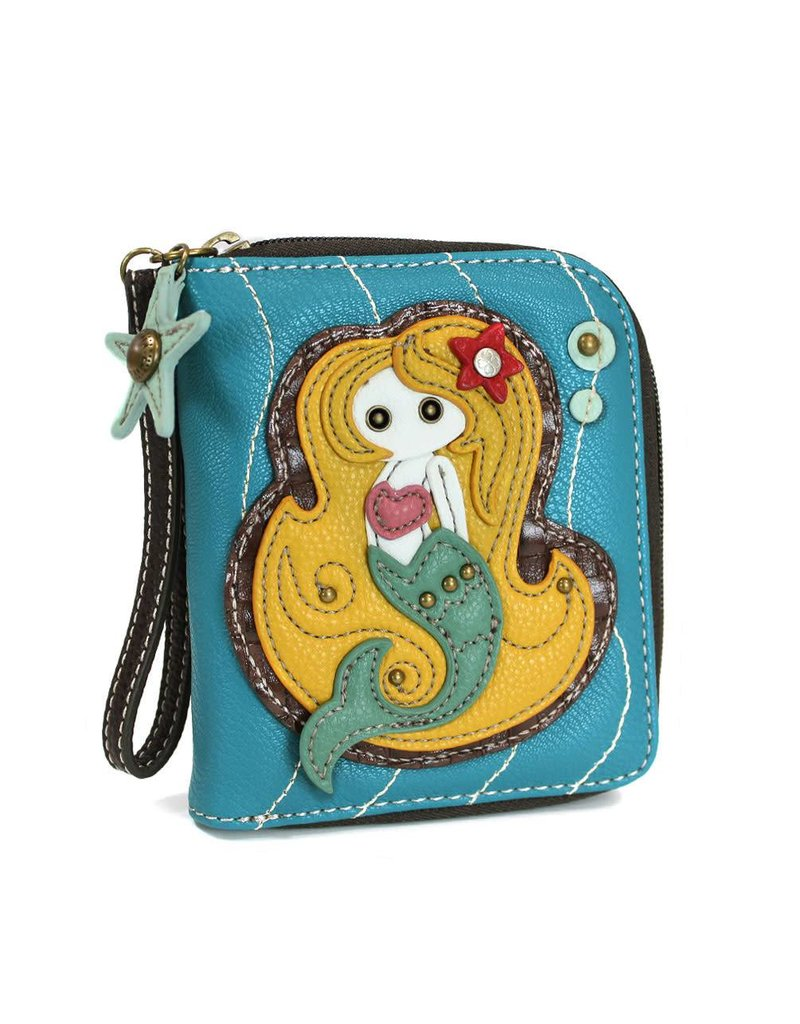 Chala Zip Around Wallet Mermaid