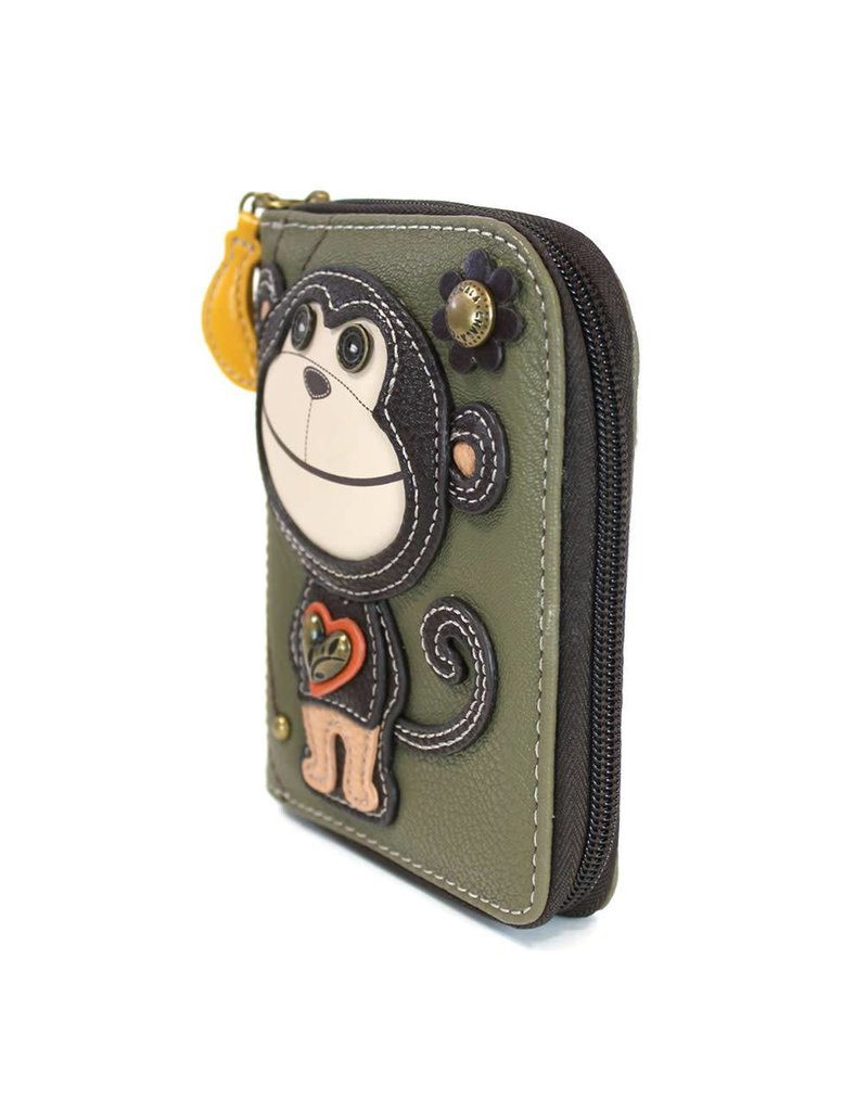 Chala Zip Around Wallet Smartie Monkey