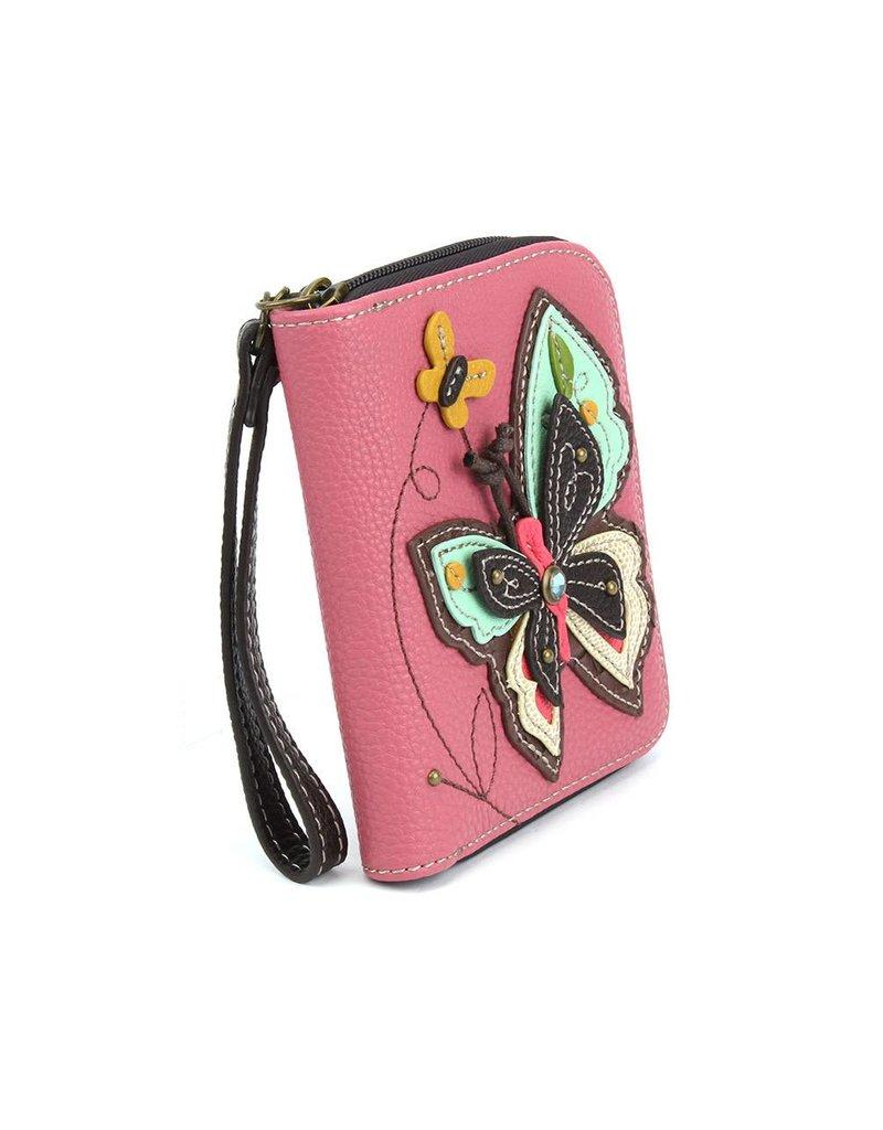 Chala Zip Around Wallet New Butterfly