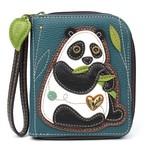 Chala Zip Around Wallet New Panda
