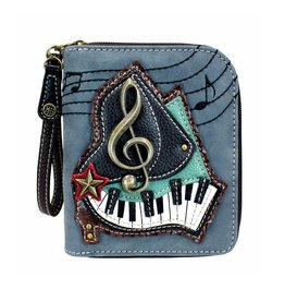 Chala Zip Around Wallet Piano