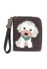 Chala Zip Around Wallet Poodle